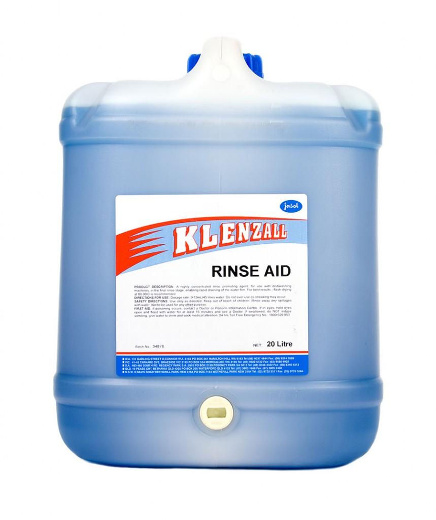 2001740—Klenzall-Rinse-Aid—20L