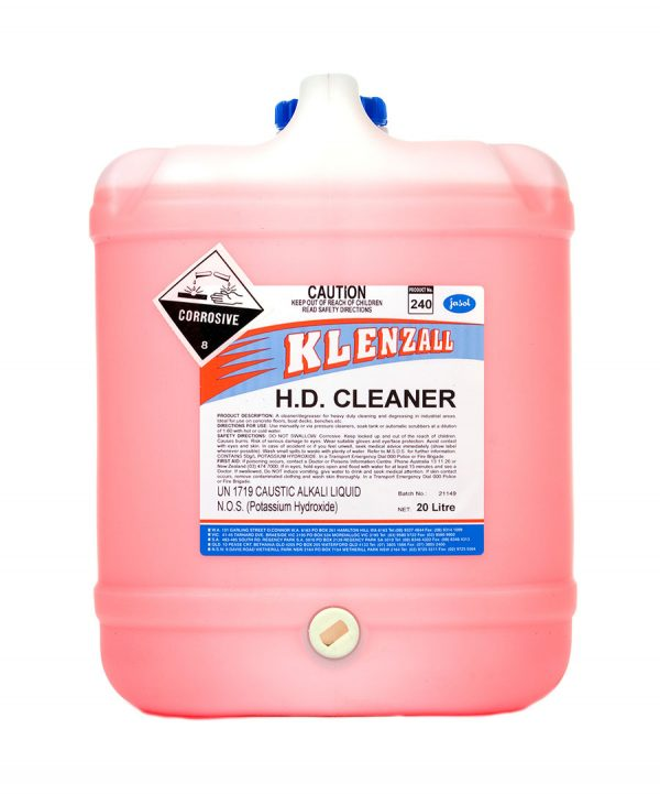 2034770—Klenzall-HD-Cleaner—20L