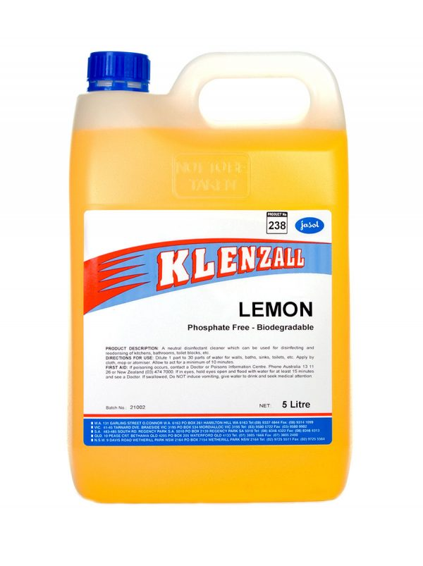 2044110—Klenzall-Lemon—5L