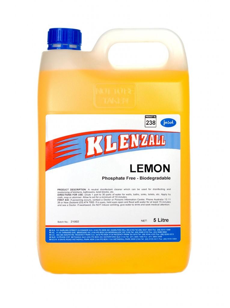 2044110—Klenzall-Lemon—5L