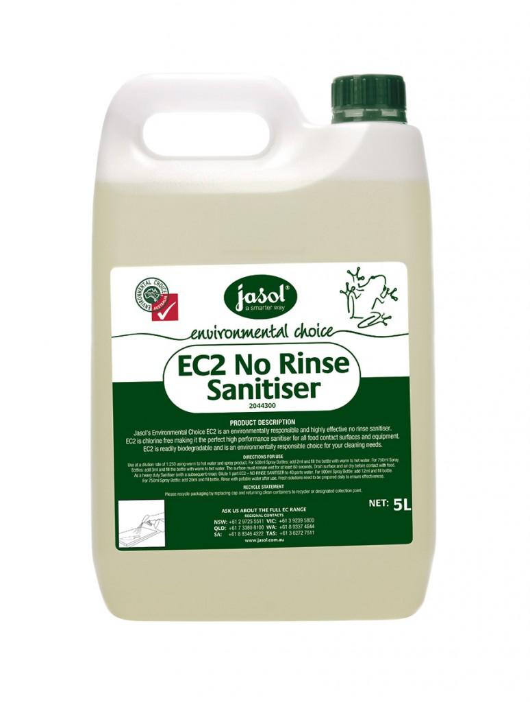 2044300—EC2-No-Rinse-Sanitiser—5L