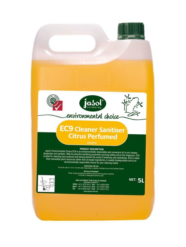 2044310—EC9-Cleaner-Sanitiser-Citrus—5L