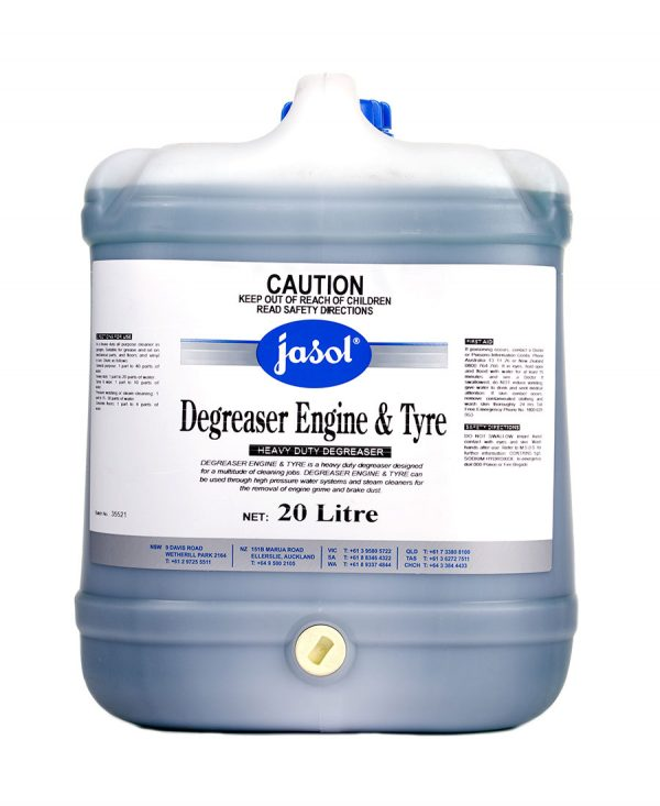 2122160—Degreaser-Engine-&-Tyre—20L