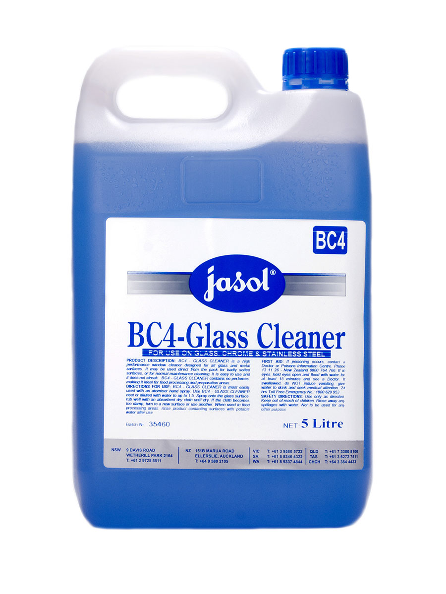 Bc4 glass cleaner for Window cleaner