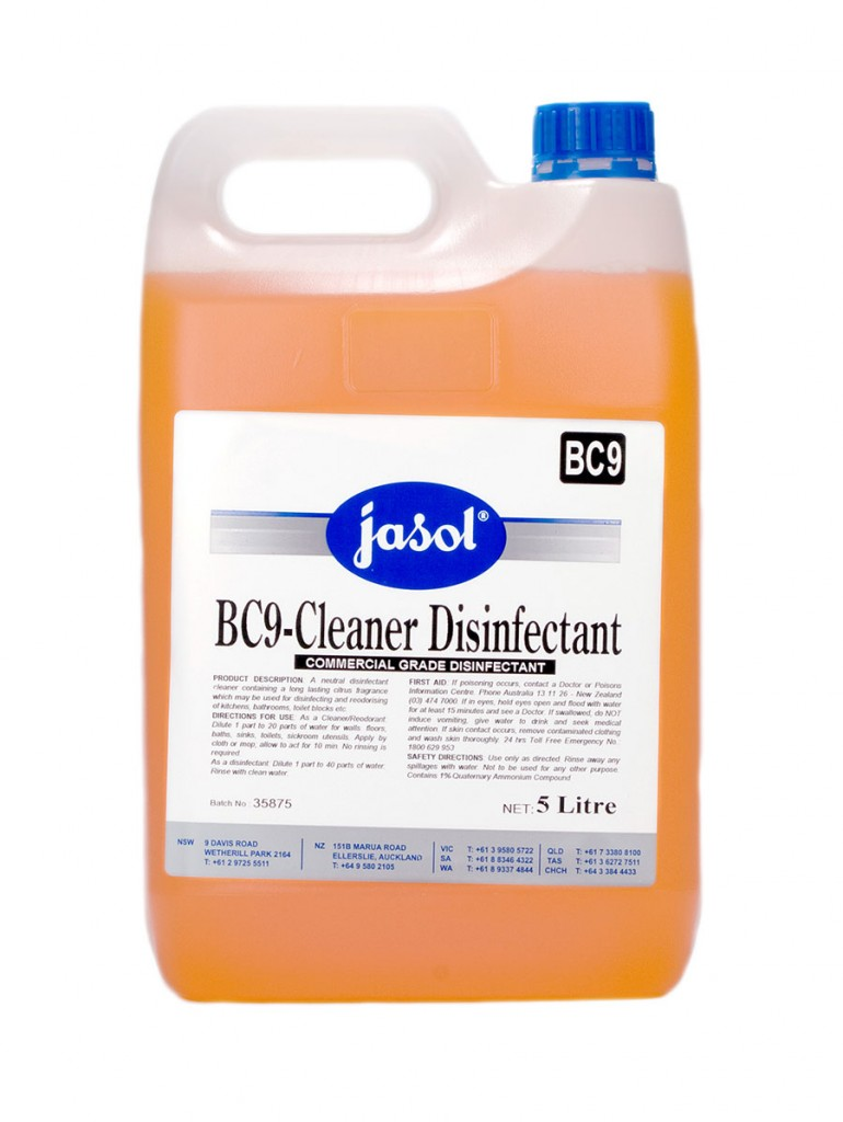2210060—BC9—Cleaner-Disinfectant—5L
