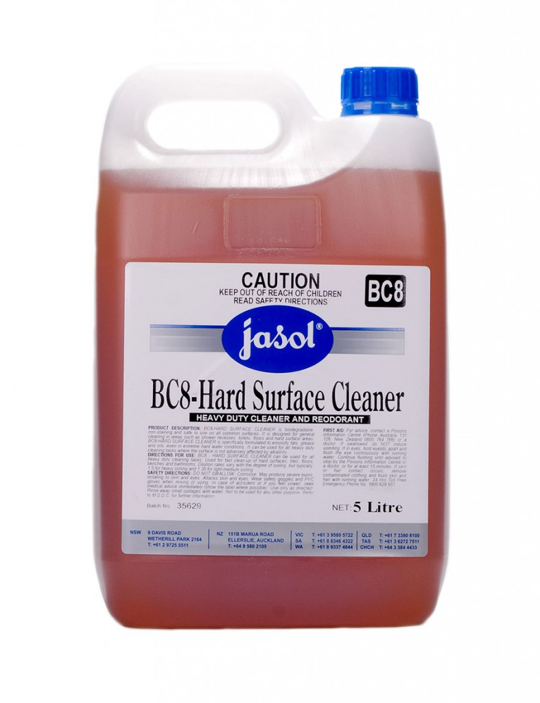 2210180—BC8—Hard-Surface-Cleaner—5L