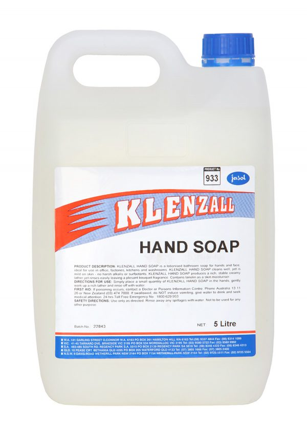 2073600—Klenzall-Hand-Soap—5L