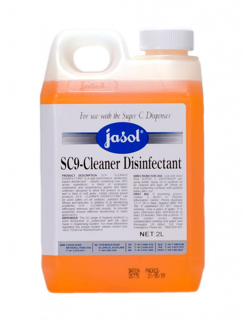2150370—SC9-Cleaner-Disinfectant—2L