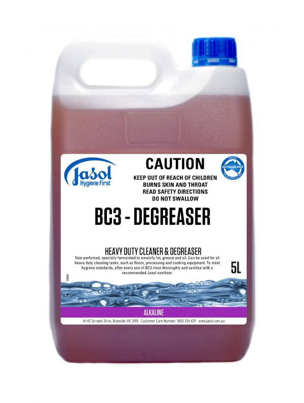 2210150 BC3 DEGREASER 5L.1