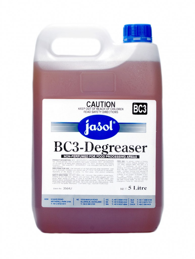 2210150—BC3—Degreaser—5L