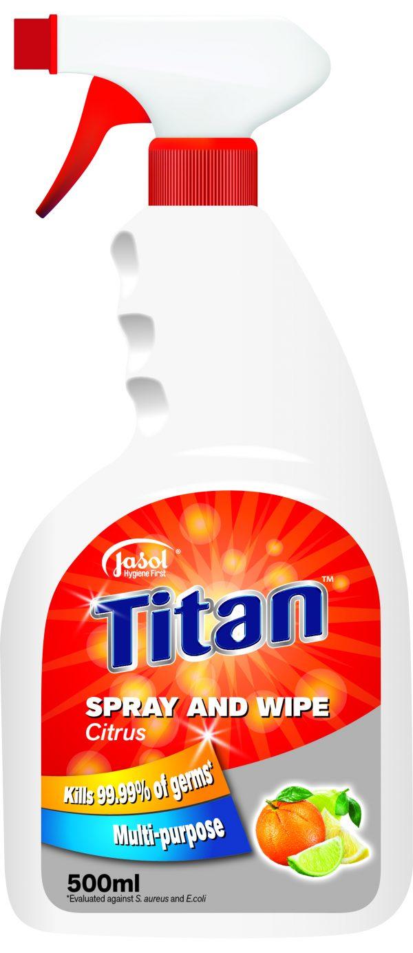 3000120 – Titan Spray and Wipe 500ml